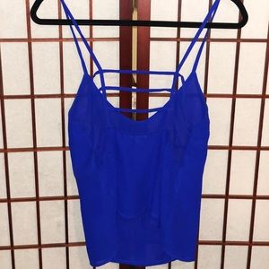Charlotte Russe Tops - Gorgeous royal blue blouse 💙 size M